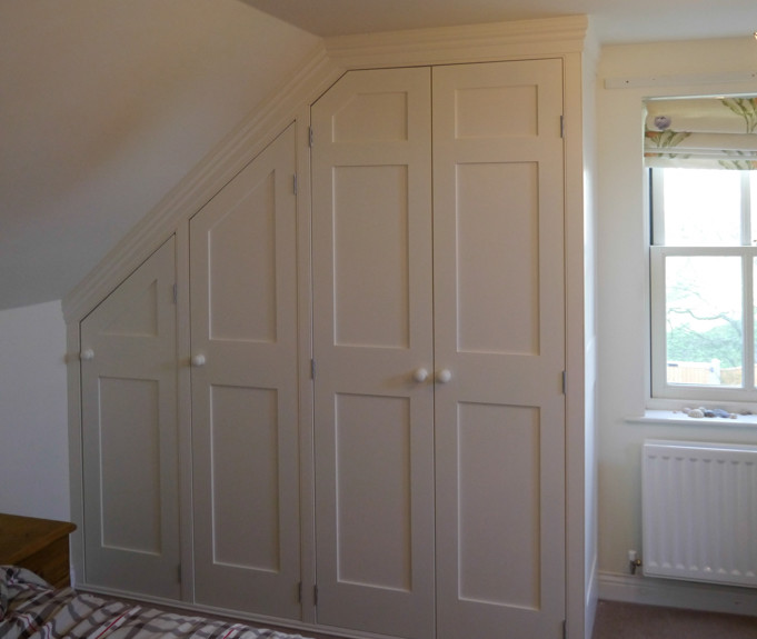 Attic Bedroom Alnmouth Dunham Fitted Furniture