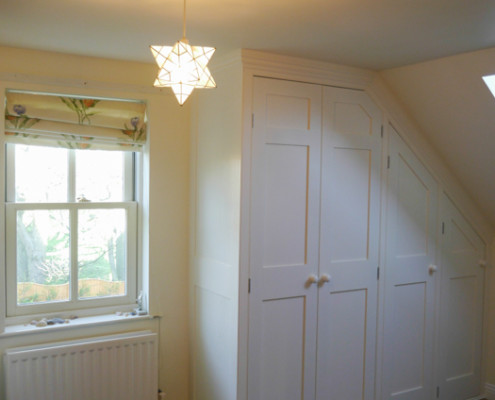 Fitted Attic Wardrobe